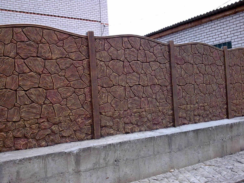 купить забор из бетона в минске цена
